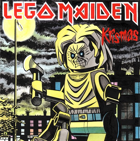 Lego Iron Maiden Killers