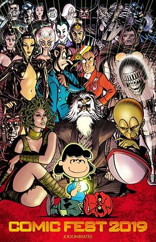 Villains Denver Comicfest