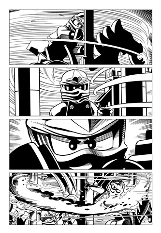 Ninjago Book 9 page 29