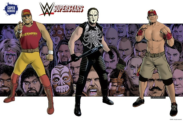 WWE NYC Comic Con Poster