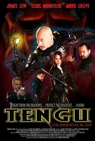 Tengu Immortal Blade poster