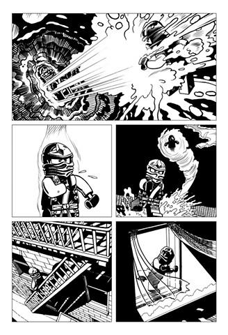 Ninjago Book 9 page 13