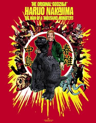 *Haruo Nakajima* The original Godzilla