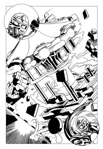 Ninjago Book 9 page 33