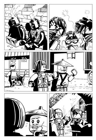 Ninjago book 10 page 5