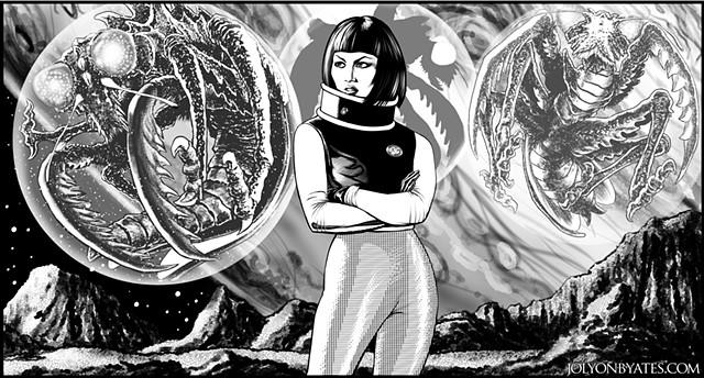 Xian Namikawa Kamakiri Planet X G-Fan Skip Peel