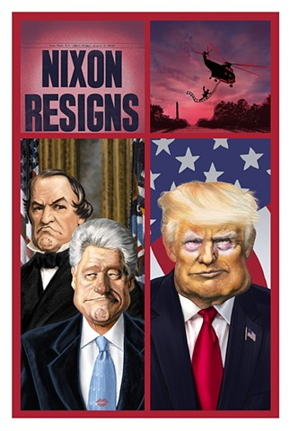 Watergate Impeachment President Trump
