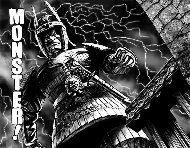 Daimajin Dai Majin Monster