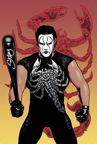 Sting WWE SuperGenius