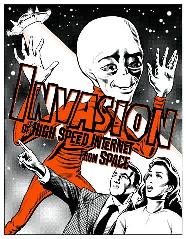 Invasion Internet poster