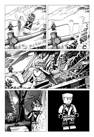 Ninjago Book 9 page 7