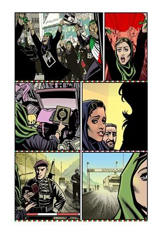 Conversation Refugees Afghanistan Iran