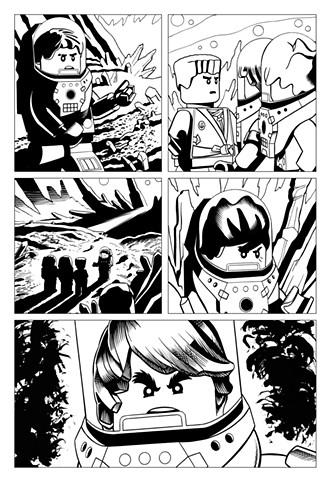 Ninjago Book 11 Page 10 Cole Jay Kai Zane