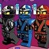 San Diego Ninjago poster with English captions.
