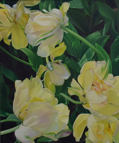 Yellow Tulips II
