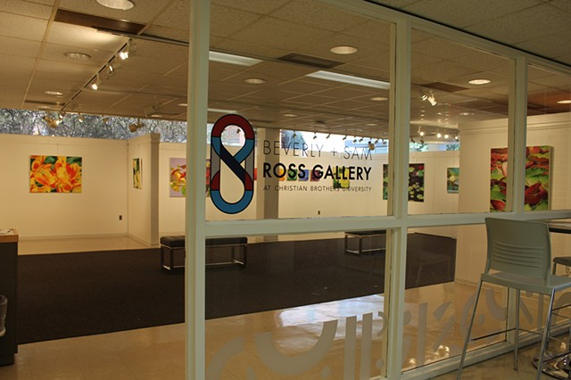 Beverly & Sam Ross Gallery at Christian Brothers University, 2018