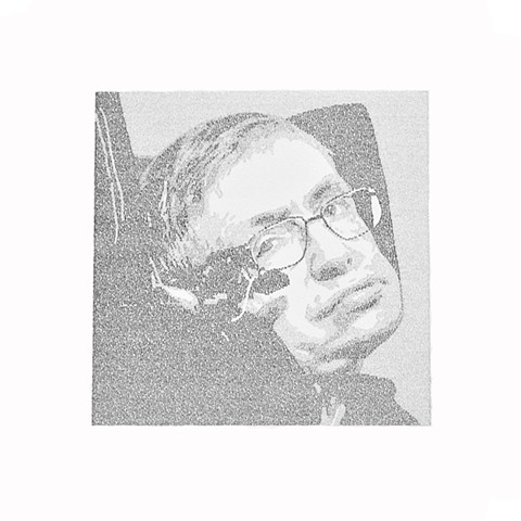 About Time (Portrait of Stephen Hawking)