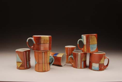 mug, jim koudelka, salt fired, carnival, soda, functional