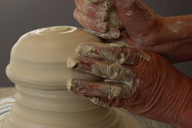 Janet Buskirk Jim Koudelka pottery clay ceramic