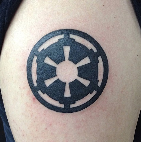 Star Wars Galactic Empire tattoo