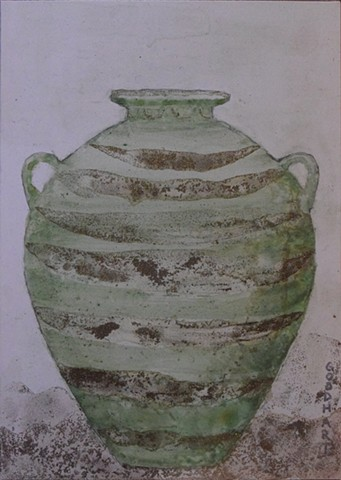 Sea Green Amphora