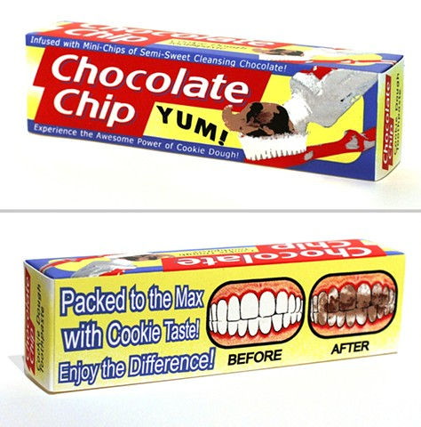 Chocolate Chip Cookie Dough Toothpaste