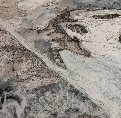 Stream Bed, Detail