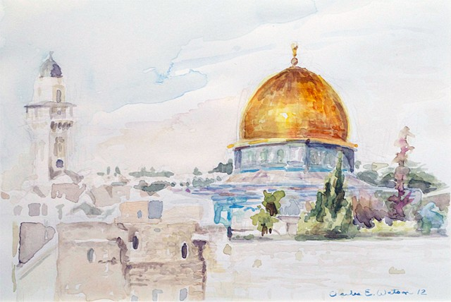 Dome of The Rock & The Wailing Wall