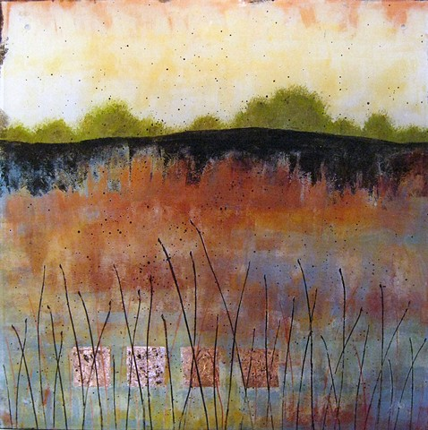 original fine art landscape painting on acrylic panel