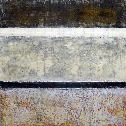 abstract fine art encaustic modern painting