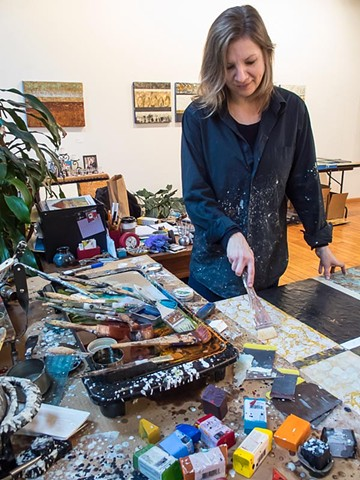 Studio Interview by Kara Knothem from the Arts Institute in Minneapolis.