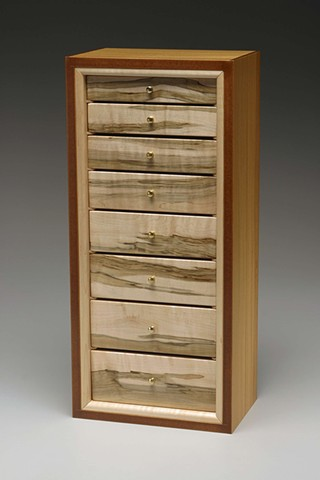 Jewelry Case with drawers