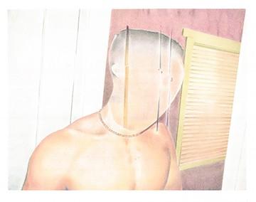 jaime cortez art male figurative gay colored pencil photorealistic