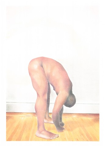 jaime cortez art male figurative gay colored pencil photorealistic