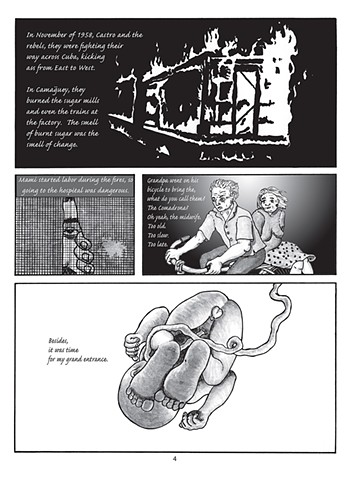 """Page 2 of the graphic novel """"Sexile"""""""