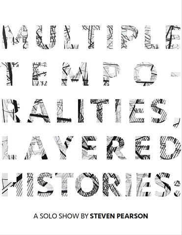 Multiple Temporalities, Layered Histories Brochure - 2018