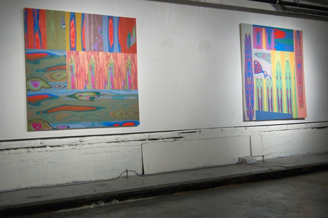Sub-Basement Exhibition, Heroes and Villains, March 2008