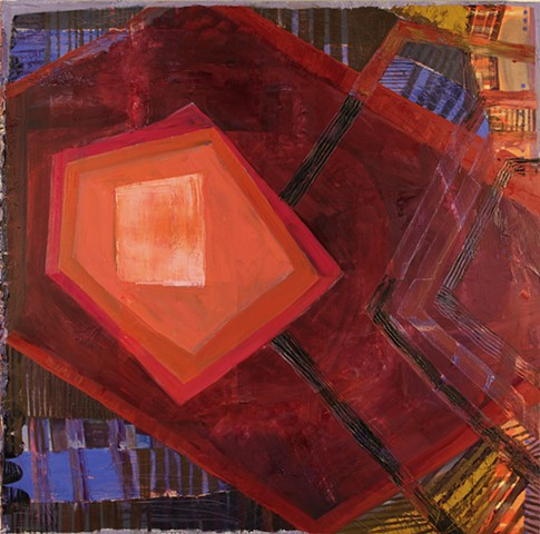 painting, musicality, rhythm, color, stripes, shapes, oil paint, jazz, contemporary, abstract, art, los angeles, stacy wendt, california art