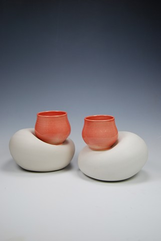Cone six porcelain, created by TeesdaleStudios