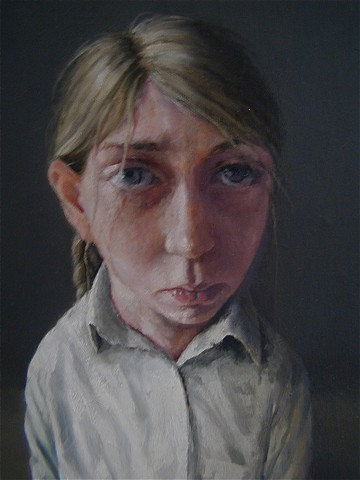 oil painting girl