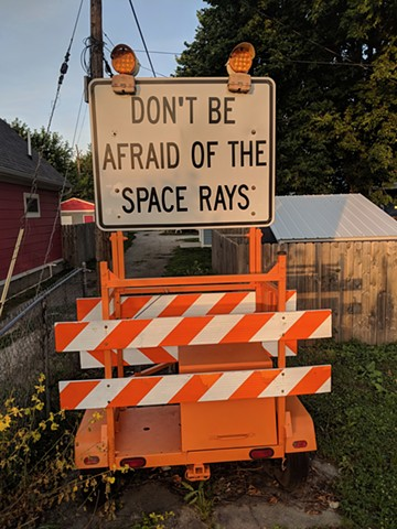 Space Rays Orange Street, Fountain Square- Indianapolis Photo by Dave Jablonski