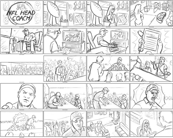 Heach Coach Storyboards