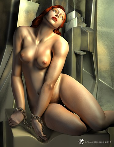 Homage to Lempicka II