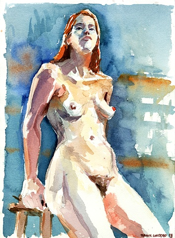 Nude Figure relaxed