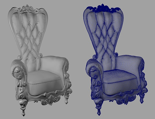 Fancy Living Room Chair