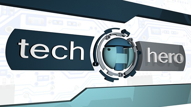 Tech Hero Logo Bumper in 3D