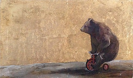Beatrice and her Bike - SOLD