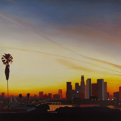 #downtown #sunset #losangeles #dtla