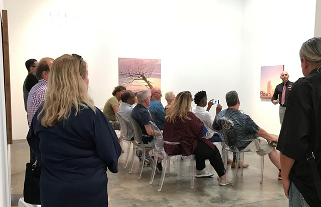 Bradley Hankey  |  Artist Talk  |  Shadows of Paradise