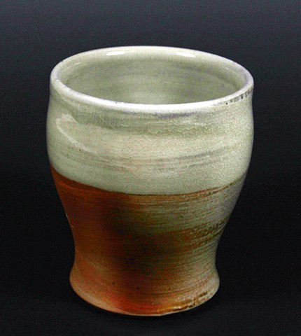 ceramic woodfired cup